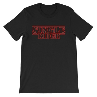 stranger things, single rider shirt